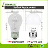 LED Home Lighting Bulb 5W (40W Equivalent) LED Bulb A15
