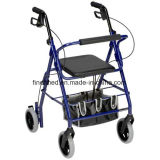 Lightweight Rollator Shopping Cart with Seat