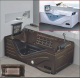 1900mm Rectangle Brown Jacuzzi with Tvdvd (AT-0750)