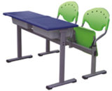 Plastic School Desk and Chair U808+KZ02-2