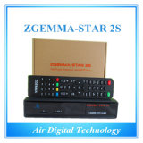 Black Color Zgemma-Star 2s Twin Tuner HD Satellite Receiver