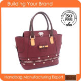 New Design Fashion Vintage Style Lady Handbag (BDM160)