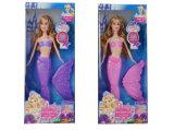 Fashion Doll Set Electric Mermaid Doll for Girls (H10402265)