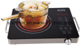Kitchen Appliance Stainless Steel Body Sensor Touch Control EGO Ceramic Furnace Hot Pot 2000W Infrared Ceramic Cooker