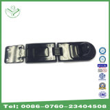 6-1/4 in (159mm) Long Single Hinge Hasp with Gloss Black Painting (HS220)