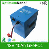 High Power 48V 40ah LiFePO4 Motorcycle Battery with PCM
