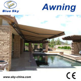 Inexpensive Durable Polyester Retractable Pergola Awning (B1200)