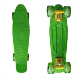 22inch PP Mini Skateboard Cruiser Complete Skateboards Banana Skateboard Green Design-27