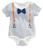 Baby Boys Newborn Sailor Summer Jumpsuit Romper Climbing Clothes