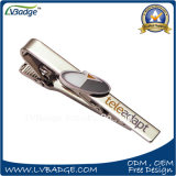 High Quality Silver Plated Enameled Metal Tie Clip