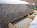 Peach Red Granite Small Slabs for Kitchen Countertop
