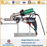 Portable High Frequency Geomembrane Hot Wedge Welder Gun