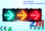 En12368 Approved High Luminance Red & Amber & Green Full Ball LED Flashing Traffic Light with Arrows