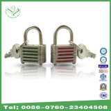 20mm Colourful Striped Padlock Without Cylinder (720CT)