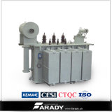 Oil Immersed Type 350kVA Power Iron Core Transformador