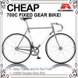 Cheap Hi-Ten Chrome 700c Fixed Gear Bicycle (ADS-7066S)