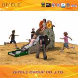 Kids Playground Grass Climber&Slide (PE-03901)