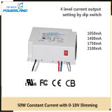 50W LED Driver with Ce TUV RoHS 5 Years Warranty