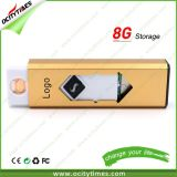Metal Rechargeable Battery Electronic Cigarette Lighter with USB
