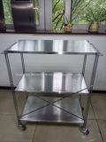 Stainless Steel Trolley (HS-046)