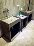 Wood Marble Vanity Basin for Bathroom