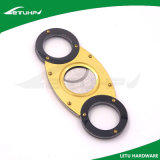 Custom Color High Quality Gold Plating Gift Cigar Cutter