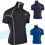 Men′s Sports Casual Compression Tight Tee Shirts