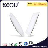 Hole Size 90mm RoHS Ce ISO Ultra Slim 4W 6W Panel Light