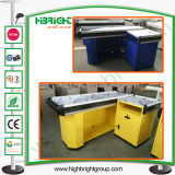 Factory Price Customized Cashier Desk Store Checkout Counter for Sale