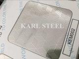 201 Stainless Steel Silver Color Embossed Kem002 Sheet