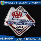 Custom Company Logo Printed Metal Lapel Pins