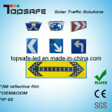 CE Appoved Flashing LED Solar Traffic Sign (TS-TS-001)