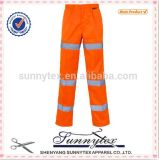 2016 OEM Cheap Wholesale High Visibility Work Cargo Pants Reflective