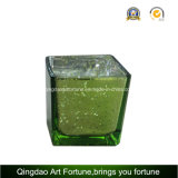 Mercury Cube Votive Glass Candle Holder for Christmas