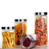 Sealed Glass Jar Kictchenware Jar Food Jar Nuts Jar Nuts Storage Tank Glass Can