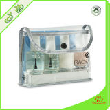 Transparent Plastic PVC Cosmetic Pouch Clear Vinyl Travel Cosmetic Bag