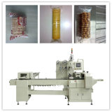 Trayless Wrapper with Feeder for Biscuit