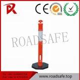 Traffic Road High Reflective T Top Traffic Warning Bollard
