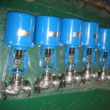 Electric Globe Type Single-Seat Control Valve