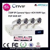 Onvif P2p IP Camera Poe NVR Kit 4 Channel NVR Kit