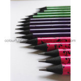 Round Shape Black Wood Pencil