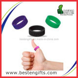 High Quality Custom Thumb Silicone Rubber Finger Rings with Debossed Logo (SW00034)