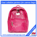 Designer Fashion Leather School Sports Bag Backpack