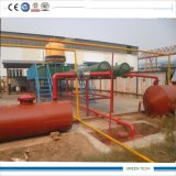 Green Type 5ton Samll Size Oil Recycling Plant