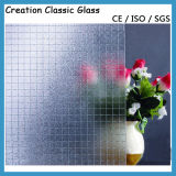 3-8mm ISO9001 & En12150 Colored Clear Pattern Glass Frost Glass