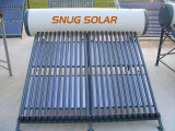 Color Steel Low Pressure Solar Water Heater with Sunmax Reflector