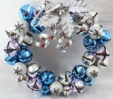 Christmas Decoration Hand Bells Wreath (TV584)