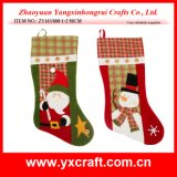 Christmas Decoration (ZY16Y008-1-2 50CM) Chinese Christmas Ornament Christmas Stocking