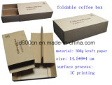 Eco Friendly Kraft Paper Foldable Tea Paper Box