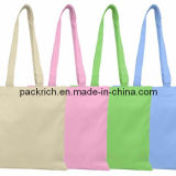 100% Unbleached Cotton Shopping Bags with different colors